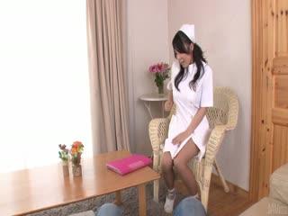 角质的护士美穗辻给亚洲 口_3