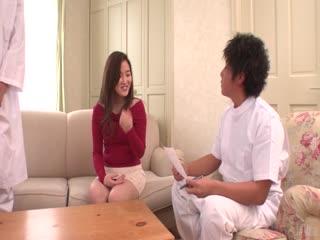 由裸体Kanna Nozomi精湛的亚洲女孩口