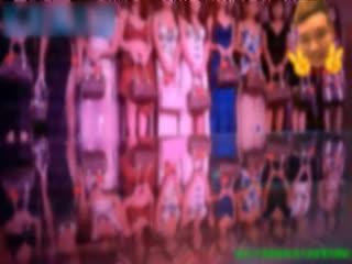 06 C仔-最新视频海天盛筵双飞2个黑丝制服高跟美女,瘦美女身材很性感被干完一