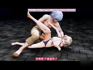 [3D][@OZ]聖女陥落 処女戦士に襲いかかる狂気の兵士達 [夜桜字幕组]