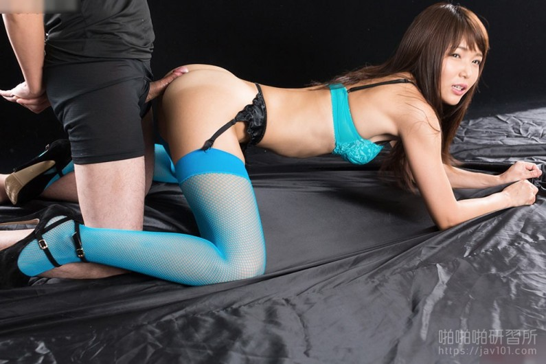 Blue Stockings Buttjob