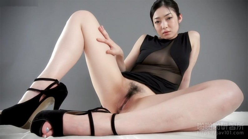 Masturbation in Black Gown