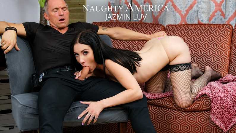 NaughtyAmerica Jasmin Luv Goes To Town On An Older Cock