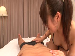 Nanaka Kyono gives japnese blowjobs in our POV...