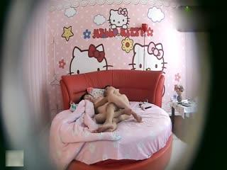 哈喽kitty房里毫无违和的少妇偷情