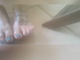 油腻的足部护理和快速足部护理