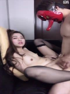 台灣SWAG_ladyyuan swag万圣特辑露脸全裸与天狗男内射中出...