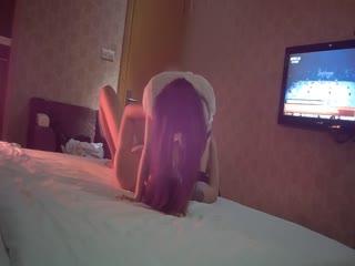 国语对白在宾馆叫了个小姐拍摄超配合...