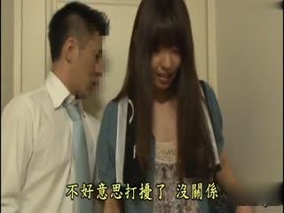 [中文]在鬧鐘響起的30分鐘前! 聽到睡成川字女兒忍不住而漏出的喘息聲而開始發情的母親