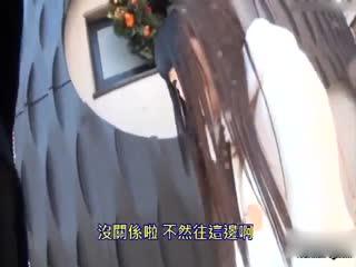 [中文]在自動販賣機後讓真實美少女野外潮吹!!電壓56倍的超強跳蛋