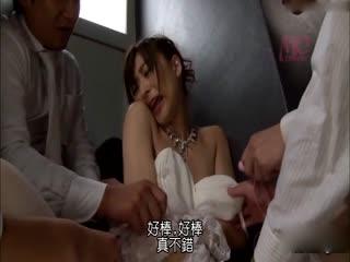 [中文]結婚式中出輪姦新娘 神波多一花